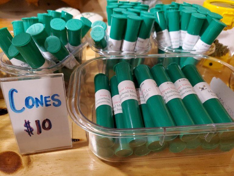 Cannabis Cones